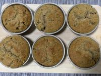 Muffins with coffee walnut recipe