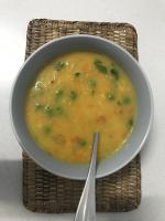 Creamy Rice and Vegetable soup - variation