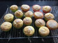 Passionfruit patty cakes