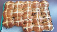 First attempt at hot cross buns