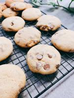 Soft choc chip cookies