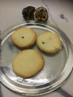 Passionfruit butter biscuits