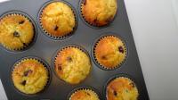 Orange choc chip cupcakes