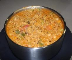 Moroccan Chickpea, Pear Quinoa