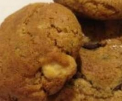 Gluten Free Walnut Choc Chip Cookies
