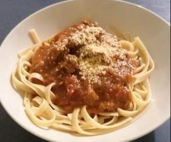 Julie's Chunky Spaghetti Bolognaise