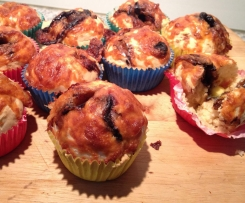 Marmite and Cheese Beer Bread Bites