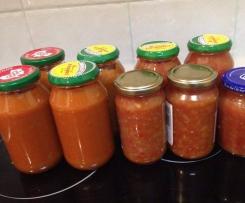 Tomato Sauce and Relish