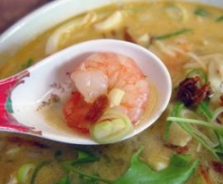 Prawn & Chicken Laksa