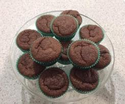Flourless Gluten Free Chocolate & Raspberry Muffins – TM5