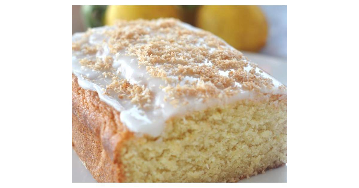 Steamed Lemon Butter Cake