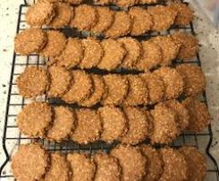 Almond Sesame Crackers (LCHF)