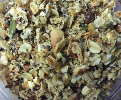 Crunchy Orange and Vanilla Granola