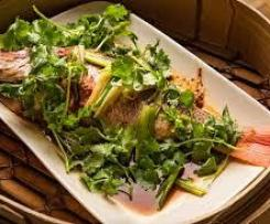 Steamed South Pacific Fish