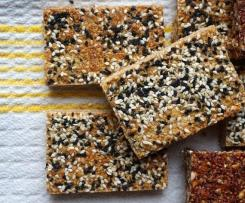 Seedy Cranberry-quinoa Energy & protein Bars
