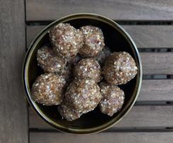 Salted Caramel Peanut Bliss Balls