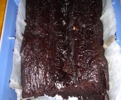 Grain free chocolate mud cake/ mud cupcakes