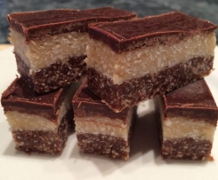 Raw Coconut Slice - Live Love Eat Raw Recipe Converted