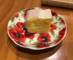 Orange cake ( low sugar, moist)