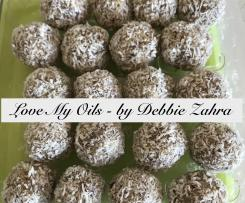 Lemon Lime Bliss Balls, Dairy Free, Vegan,  DoTerra