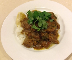 Creamy Lamb Curry