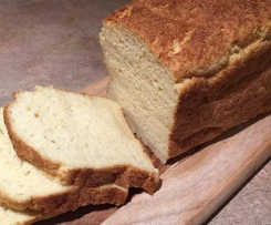 Fluffy white gluten free bread