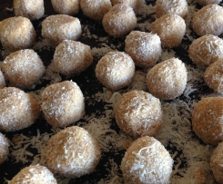 Coconut and lemon balls
