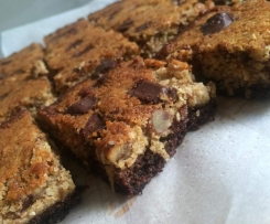 German Chocolate Cake Bars - Gluten, Dairy and Refined Sugar Free