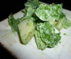 Rocket & potato salad