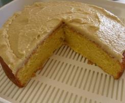 Moist Orange Cake