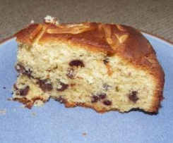 Chocolate Chip and Almond Cake