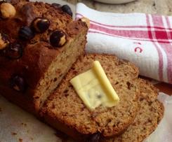 Banana Hazelnut & Honey Bread