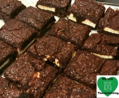 Indulgent Cream Cheese Brownies