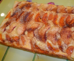 Quick & Easy Peach/Apricot/Plum Cake