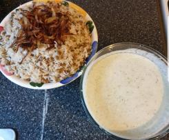 Rice and lentils (majadra)