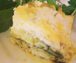 Pesto Pumpkin Chicken Lasagne