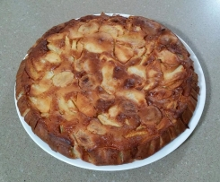 Apple, Pear and Banana Cake