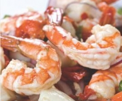 Tangy Seafood Salad (with chilli citrus dressing)