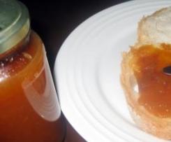 Easy Peach Jam