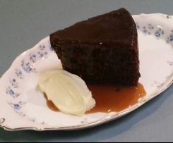 Easy Sticky Date Cake with Toffee Sauce
