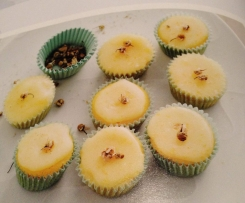 Mandarin and Chamomile Cupcakes