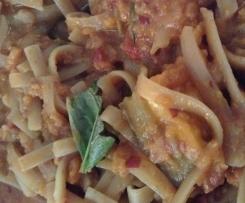 GF vegetarian spaghetti