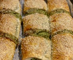 Variation Spinach & Ricotta Rolls