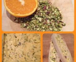 Orange, Cardamom and Pistachio Butter