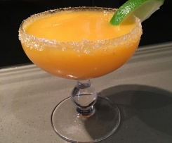 Frozen Mango and Lime Margarita