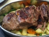 Butterflied Leg of Lamb with veges & gravy
