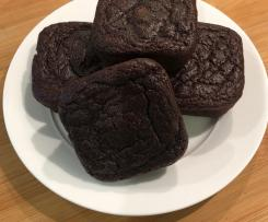 Healthier Chocolate, Beetroot and Banana Brownies