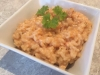 Chicken & Basil risotto with tomato & spanish onion