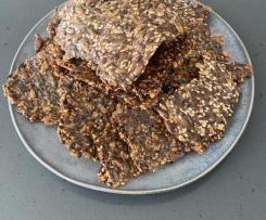 Keto LCHF seed Crackers