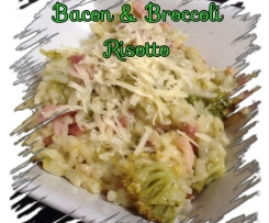 Bacon & Broccoli Risotto